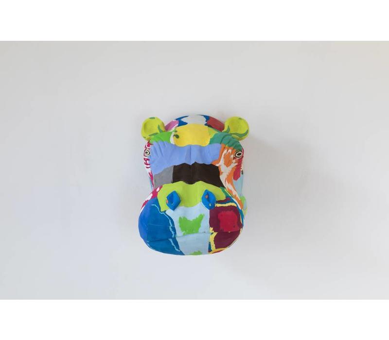 Art mural Hippopotame