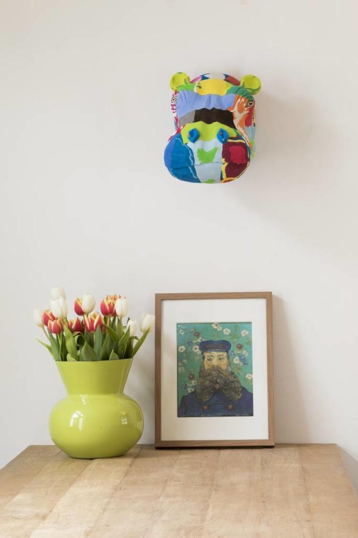 Ocean Sole  Wall Art Nijlpaard