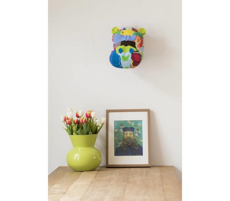 Wandkunst Nilpferd