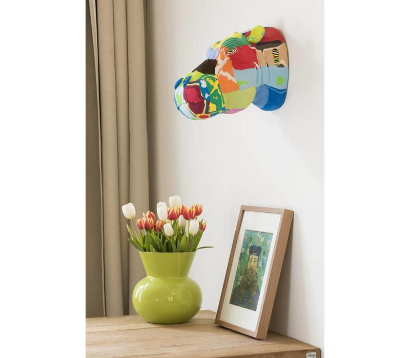 Wall Art Hippopotamus
