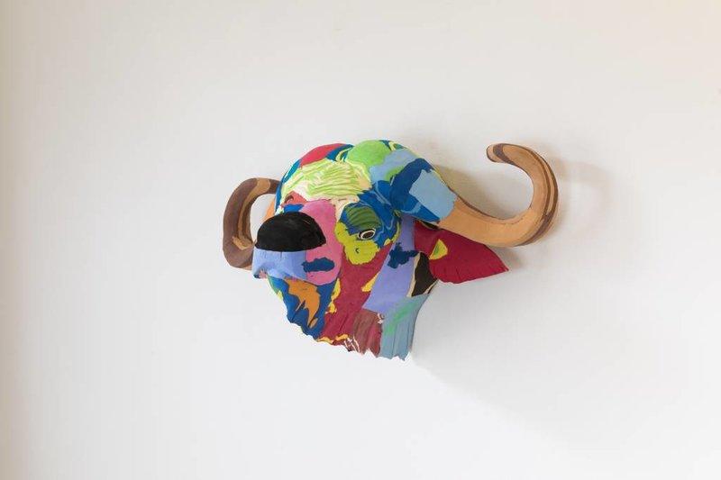 Ocean Sole  Wandkunst Büffel