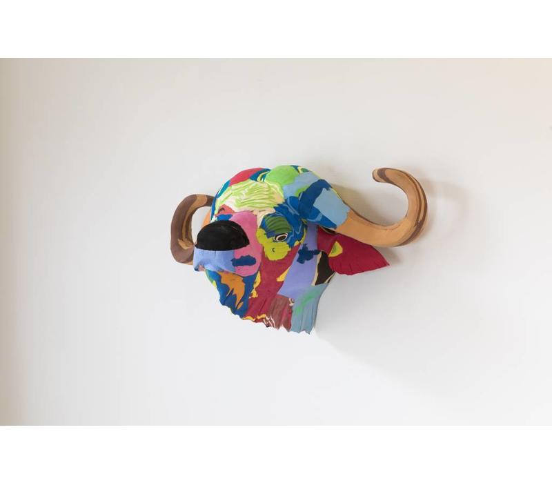 Wandkunst Büffel