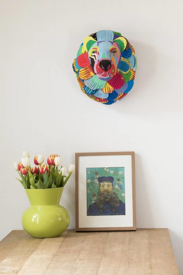 Ocean Sole  Wall Art Lion