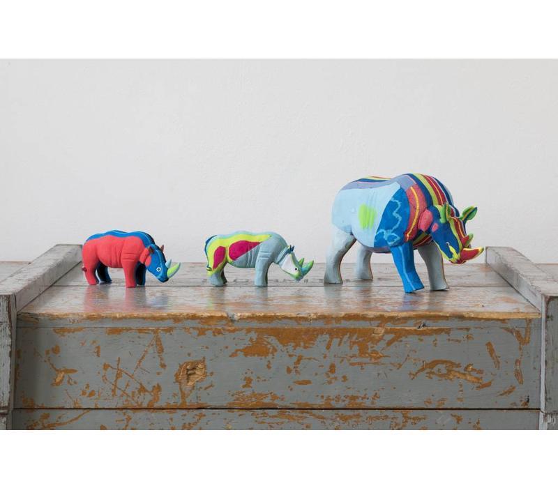 Rhino set small + medium