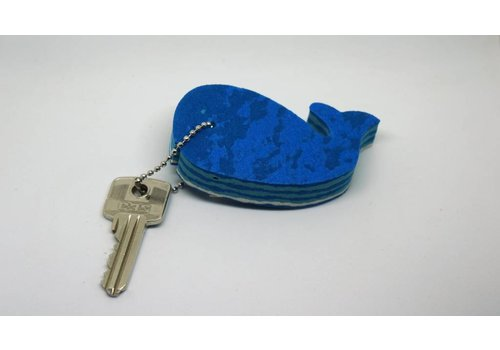 Ocean Sole  Key ring Whale