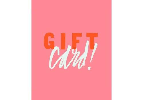 Geschenkkarte - 50 euro