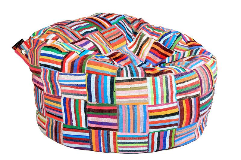 Ashanti Design Großer Bori Bori Sitzsack 120CM