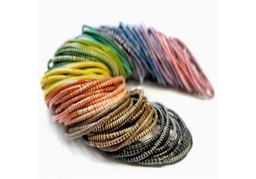 Flipflop bracelets - set of 10