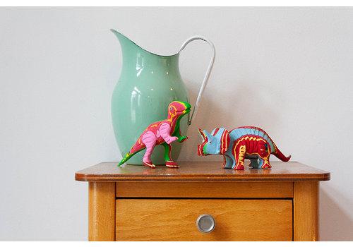 Ocean Sole  Ensemble T-Rex & Triceratops