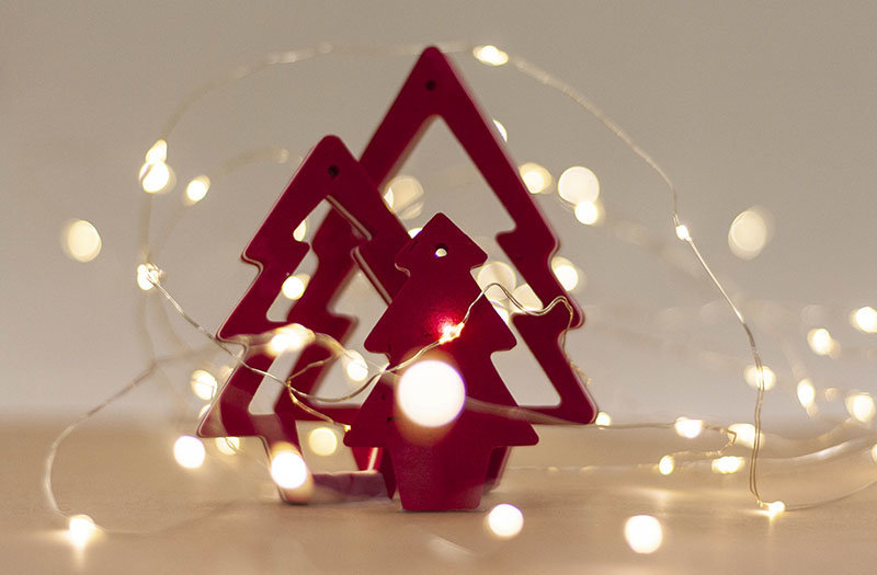 Ocean Sole  Pendentif de Noël Ocean Sole avec carte de Noël