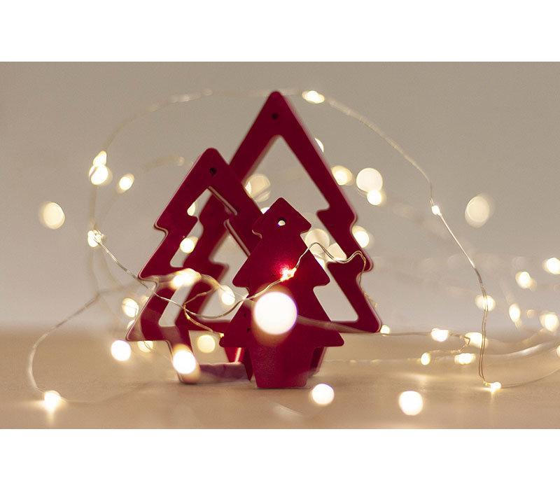 Ocean Sole Kersthanger met kerstkaart - set van 5