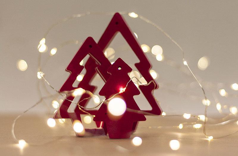 Ocean Sole  Cintre de Noël Ocean Sole avec carte de Noël - lot de 3