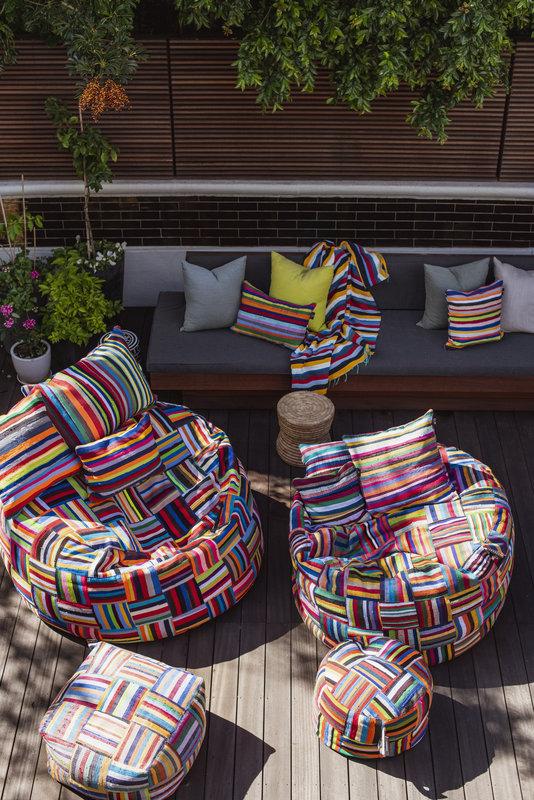 Ashanti Design Bori Bori zitzak 100cm