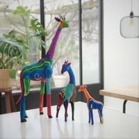Girafe lot de 3