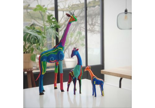 Ocean Sole  Giraffe set of 3