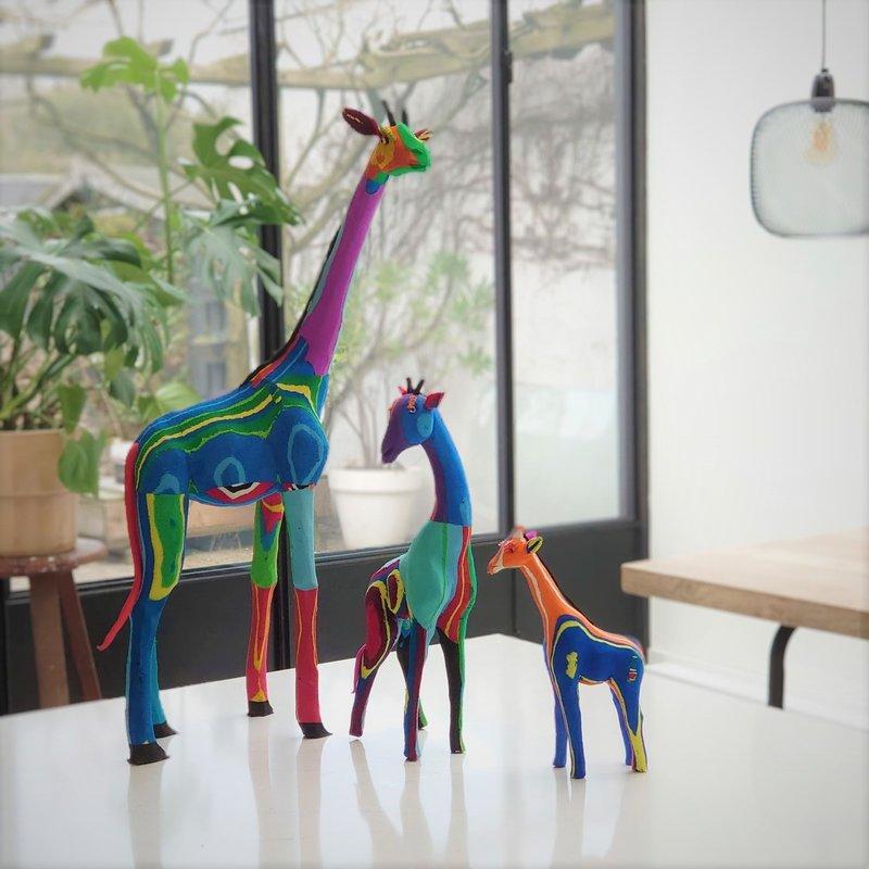 Ocean Sole  Giraffe set of 3