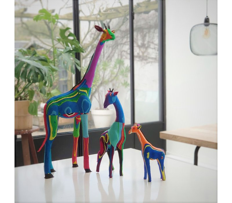 Ensemble de 3 girafes