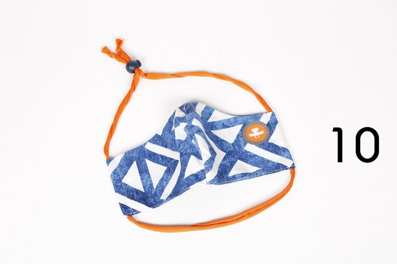 Ashanti Design Mouth Mask as an addition to the mouth mask including filters