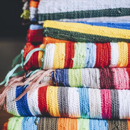 Colorful fabrics from Ashanti Design