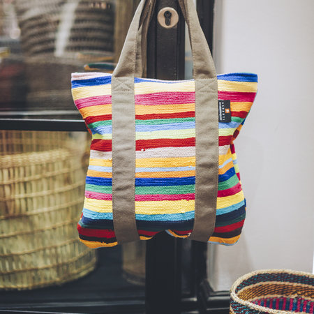 Bags made from recycled cotton