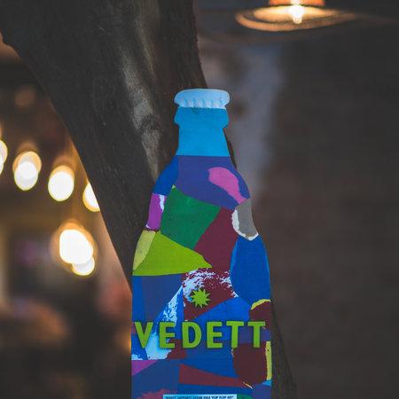 Ocean Sole Vedett Bierflaschen