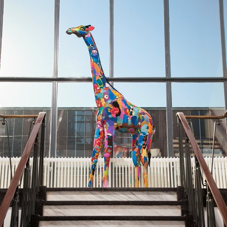Lebensgroße Giraffe 2 Meter