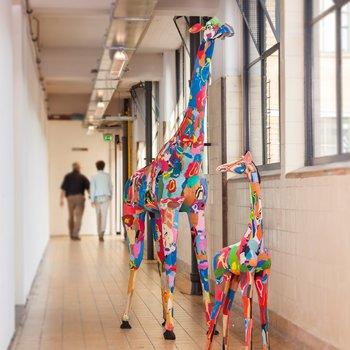 Lebensgroße Giraffe 2,5 Meter