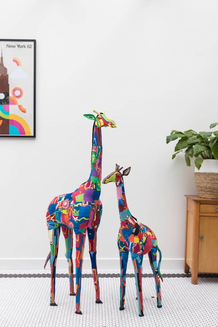 Ocean Sole  Giraffe extra groß