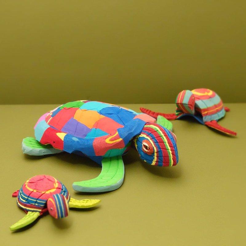 Ocean Sole  Turtle set of 3
