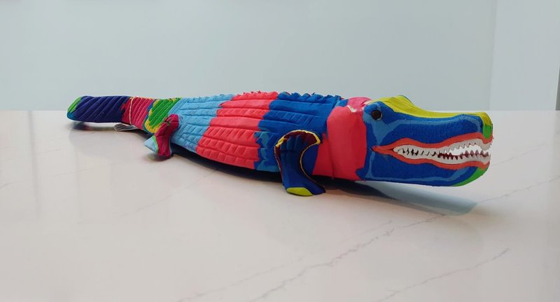 Ocean Sole  Alligator Large