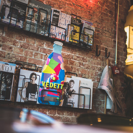 Bouteilles de bière Vedett