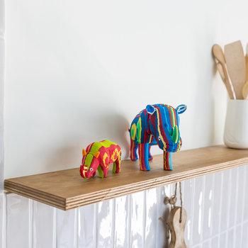 Ocean Sole  Ensemble Rhino petit + moyen