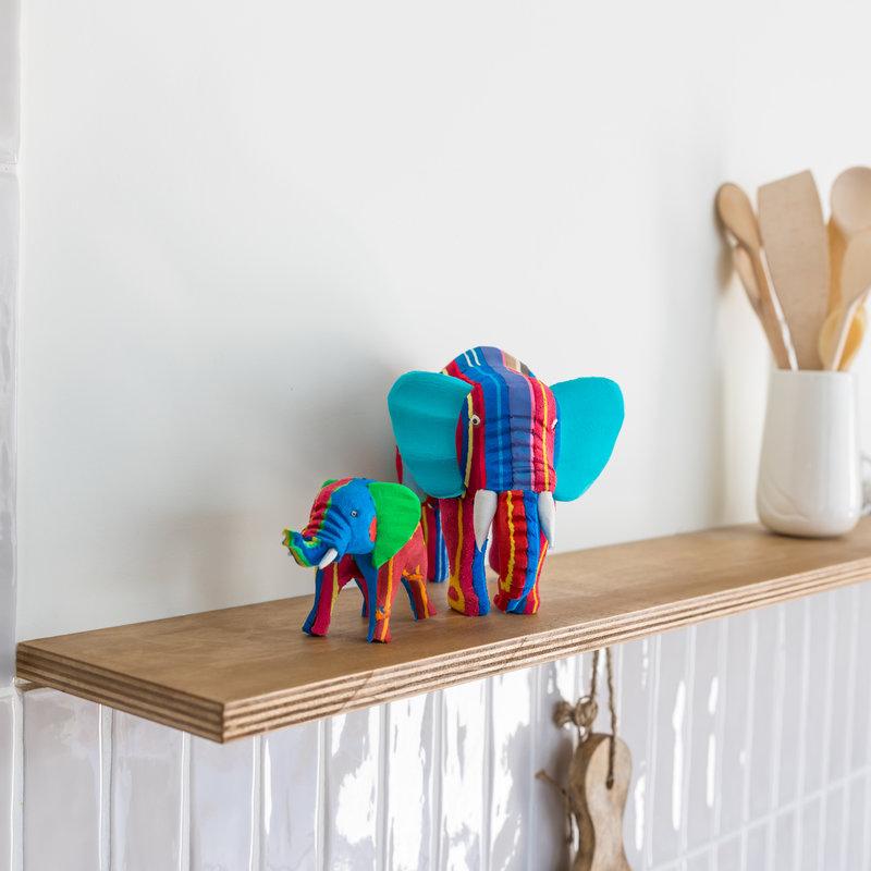 Ocean Sole  Elephant set small + medium