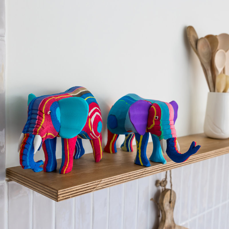 Ocean Sole  Elephant Medium