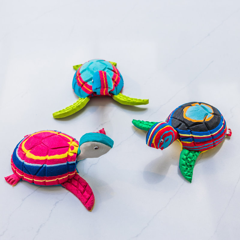 Ocean Sole  Turtle small - set of three