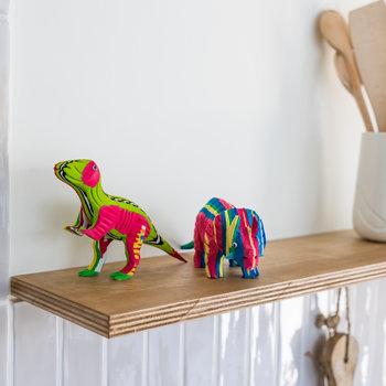 Ocean Sole  Ensemble T-Rex et Triceratops