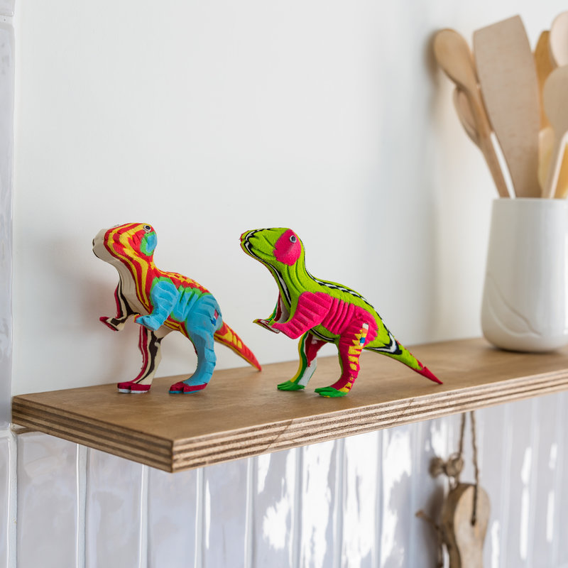 Ocean Sole  T-Rex & Triceratops set