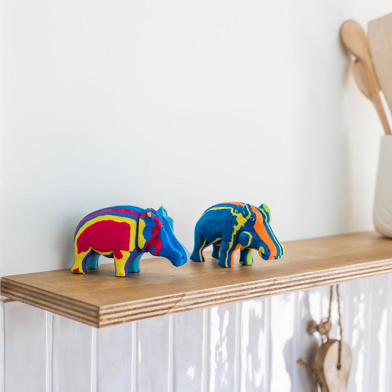 Ocean Sole  Safari-Set (Elefant, Giraffe und Flusspferd)