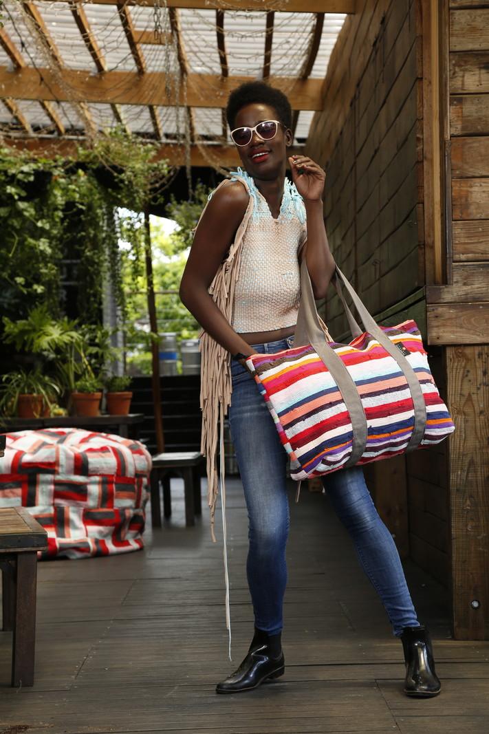 Ashanti Design Sac week-end Amataba