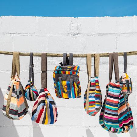 Taschen aus recycelter Baumwolle