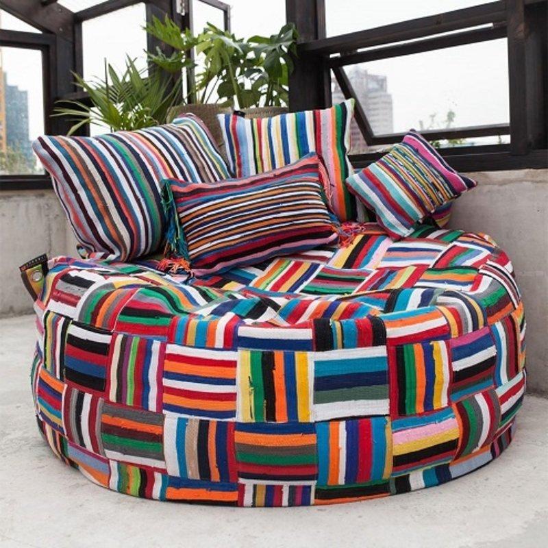 Ashanti Design Jumbo Bori Bori zitzak 140CM