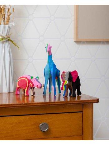 Ocean Sole  Safari-Set (Elefant, Giraffe und Nilpferd)