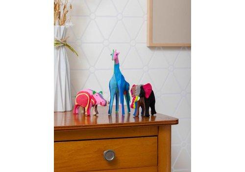 Safariset (Olifant, Giraffe en Nijlpaard)