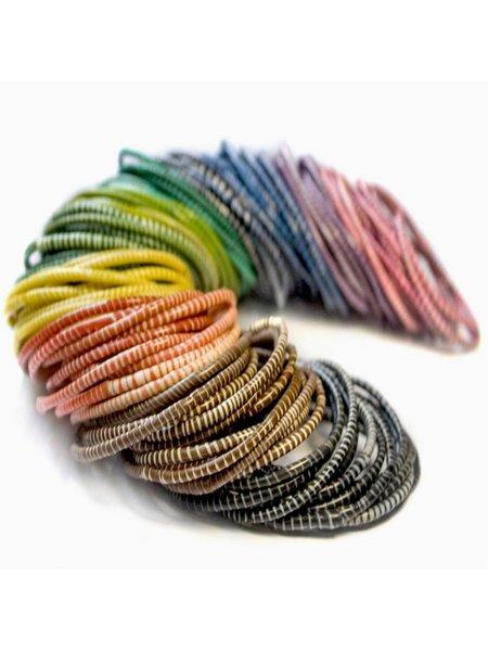 Flipflop bracelets - set of 5