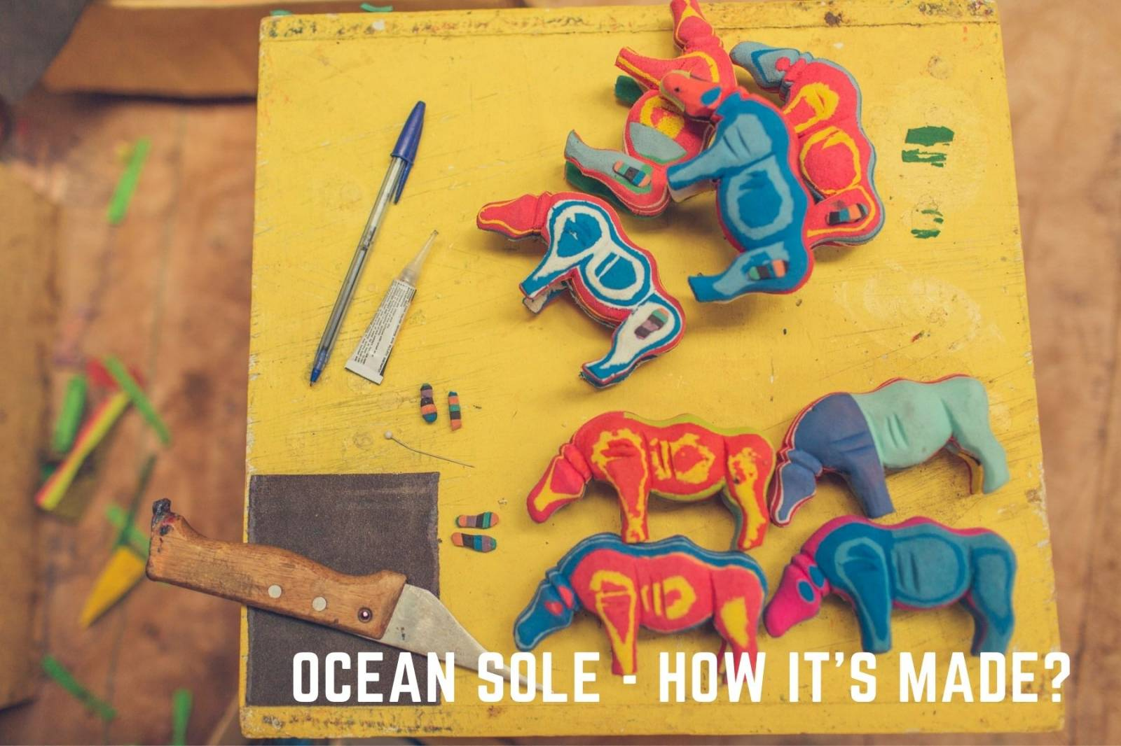 Ocean Sole - how it's made?