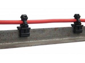 FDM Solar edge clip (UV-bestendig) 100 stuks