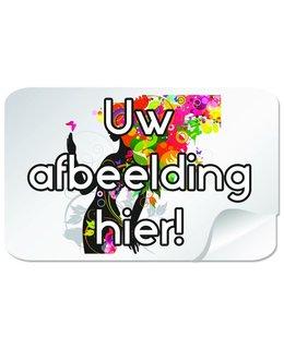 Rechthoekige stickers 105 x 35 mm (10,5 x 3,5 cm)