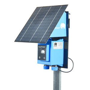 Elephant Schrikdraadapparaat op zonne-energie Heliopan HS10