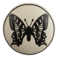 Porzellanknauf Schmetterling