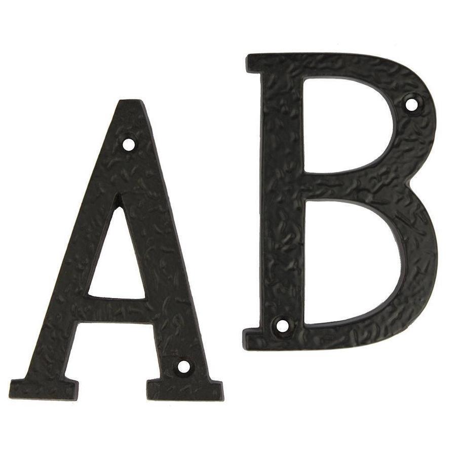 Gusseisen Hausnummer Buchstabe A-B
